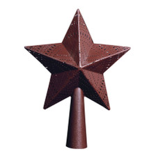 Star Tree Topper - Red