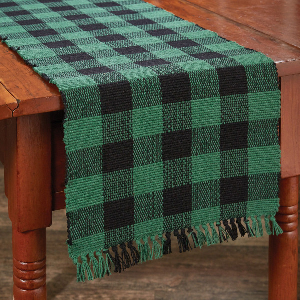 Wicklow Yarn Table Runner - Forest