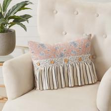 """Kaila Ruffled Pillow 14"""" x 18"""""""