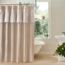 Camilia Ruffled Shower Curtain