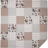 Annie Portabella Floral Patch Quilt - Flat