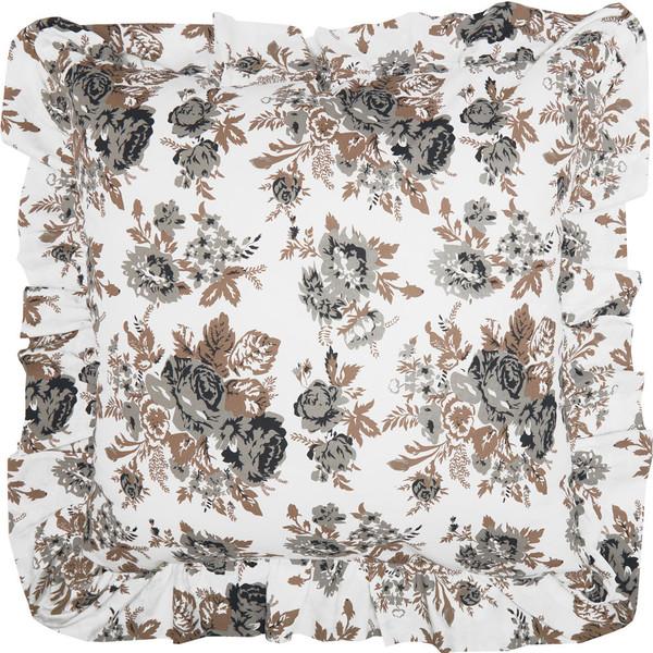 Annie Portabella Floral Fabric Euro Sham