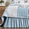 Annie Buffalo Blue Check Bed Skirt