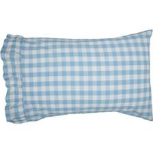 Annie Buffalo Blue Check Pillowcase Set