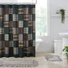 Pine Grove Patchwork Shower Curtain