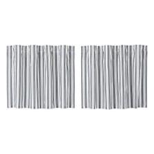 Sawyer Mill Black Ticking Stripe Tier Set
