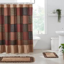 Maisie Patchwork Shower Curtain
