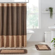 Maisie Ruffled Shower Curtain