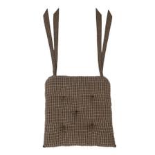 Kettle Grove Plaid Chair Pad