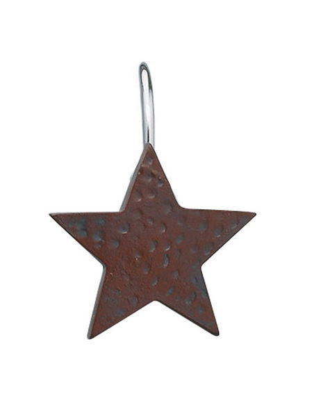 Red Star Shower Curtain Hook