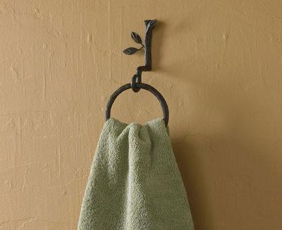 Nature Walk Ring Towel Hook