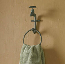 Water Faucet Ring Towel Hook