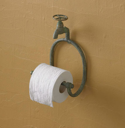 Water Faucet Tissue Holder