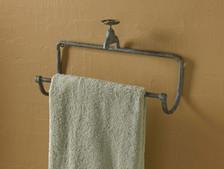 Water Faucet Towel Bar