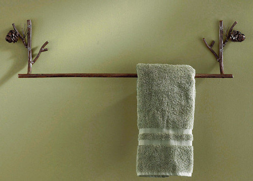 "Pine Lodge 24"" Towel Bar"