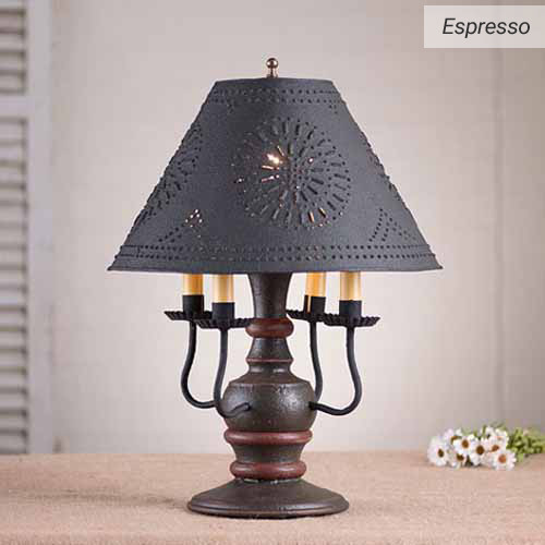 Cedar Creek Table Lamp in Espresso