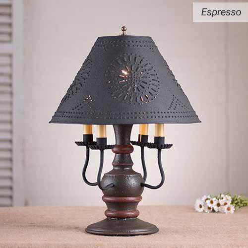 Cedar Creek Table Lamp in Espresso