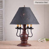 Cedar Creek Table Lamp in Plantation Red