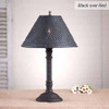 Gatlin Table Lamp in Hartford Black over Red
