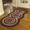Folk Art Braided Rug Runner