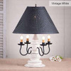Harrison Table Lamp in Vintage White