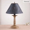 Butcher's Chamberstick Lamp in Pearwood
