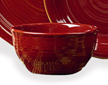 Aspen Red Cereal Bowl