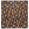 Patriotic Patch Luxury King Quilt Flat