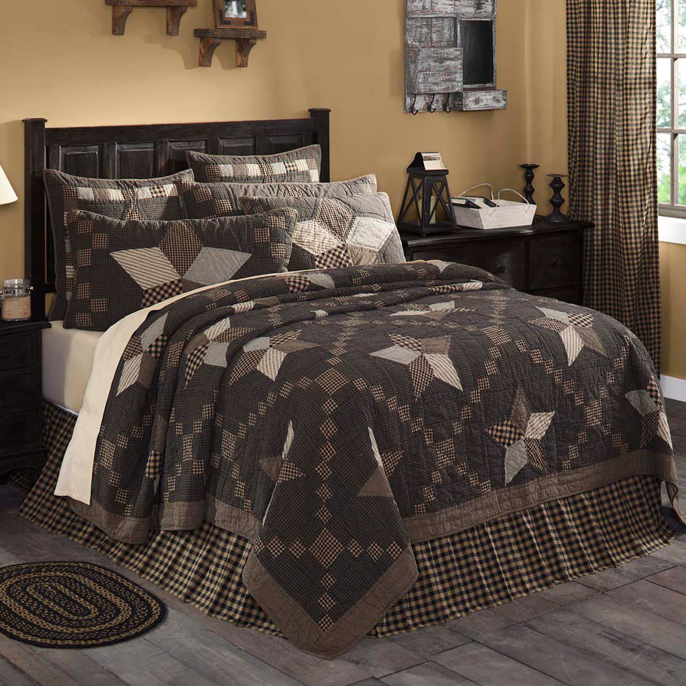 Farmhouse Star King Quilt By Vhc Brands