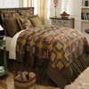 Tea Cabin Luxury King Quilt