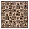 Bingham Star King Quilt Flat