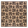 Bingham Star Luxury King Quilt Flat