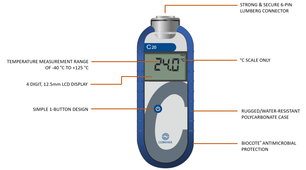 Comark C20 thermometer