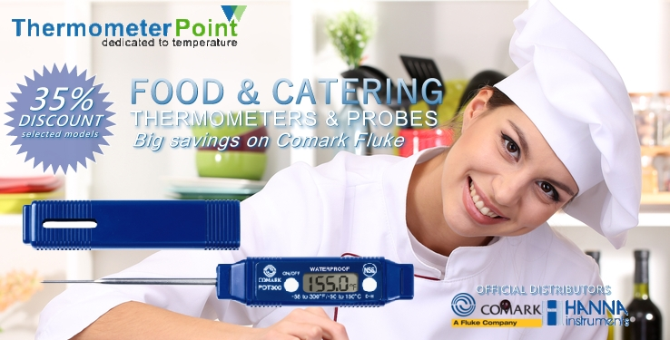 Pocket Folding Food Thermometers - Thermometer Point