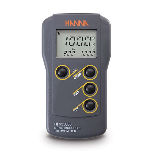 Hanna HI-935005 K-Type Thermocouple Thermometer | Thermometer Point