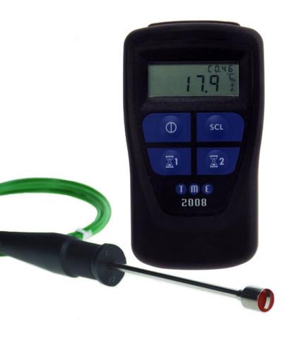 TME CLEGK1-K Legionnaires Temperature Kit Integral Timer & Dual Probe | Thermometer point