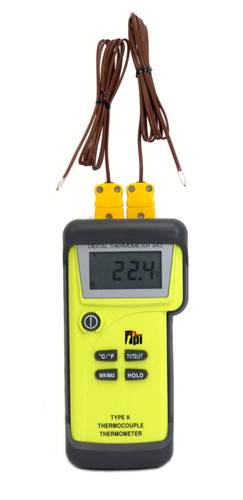 TPI 343 Dual Input Differential Thermometer