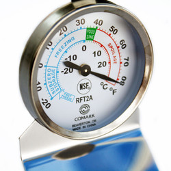 Comark RFT2AK Dial Refrigerator / Freezer Thermometer