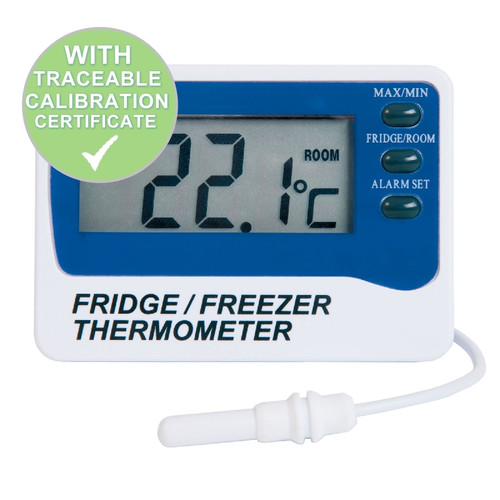 ETI 810-210 Fridge Freezer Thermometer Shipped With Calibration Certificate