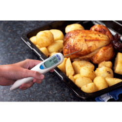 SOLO - Digital Thermometer with Fold Out Needle Probe | Thermometer Point