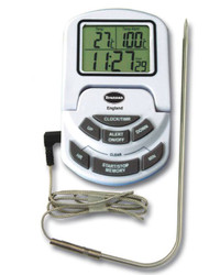Brannan Digital Cooking Probe Thermometer White | Thermometer Point
