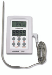 Brannan Digital Probe Thermometer with Timer | Thermometer Point