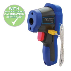 Calibrated Dual Laser Infrared Thermometer -50 to 500 C&F Brannan 38/705/0