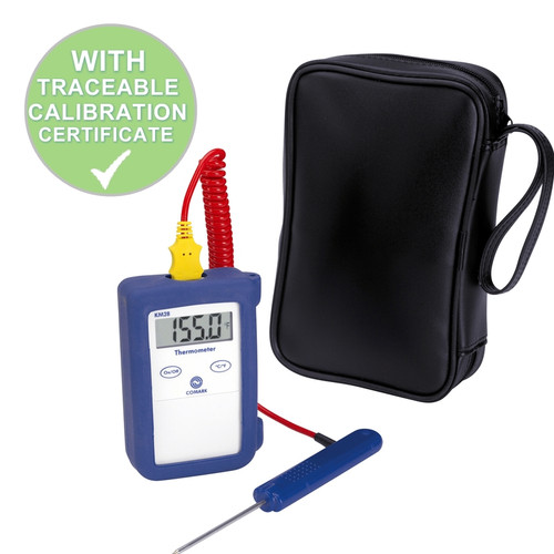 Comark Thermocouple Food Thermometer (Type K) KM28B With Free Calibration Certificate | Thermometer Point