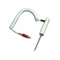 Hanna HI-762PW/80C Penetration Probe With Curly Cable And Grommet | Thermometer Point