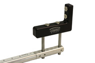 "FRAME SQUARE MEASUREMENT FIXTURE; MAGNETIC; BOTTOM MOUNT; 2-4"" FRAME RAIL; UNIVERSAL"
