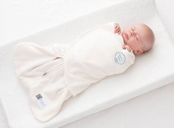 3-Way Adjustable Swaddle Design