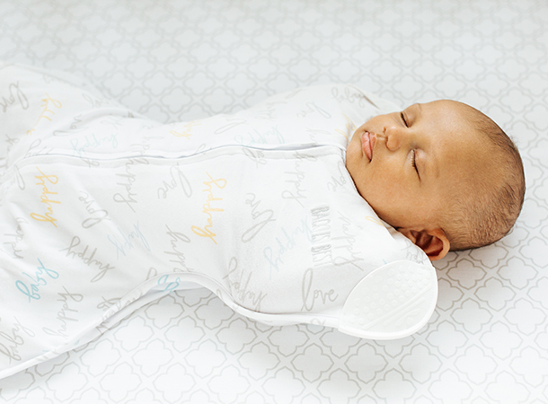 100% cotton snug comforting fit swaddle