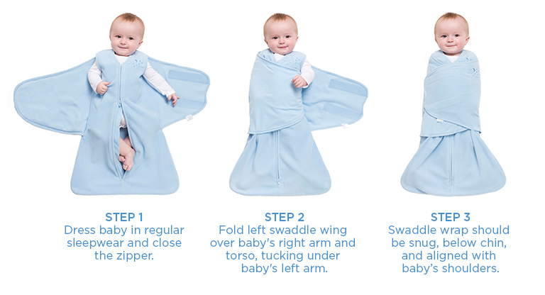 Safe Swaddling Made Easy - How to Swaddle Safely - HALO ...