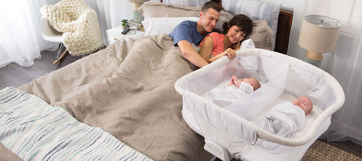 HALO® Bassinest® twin sleeper – Safe sleep for twins made easier